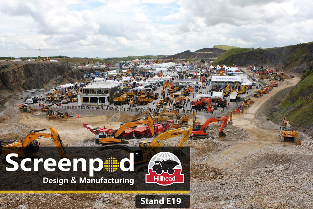 Screenpod Part of the Hillhead 2018 Show – Visit Us!