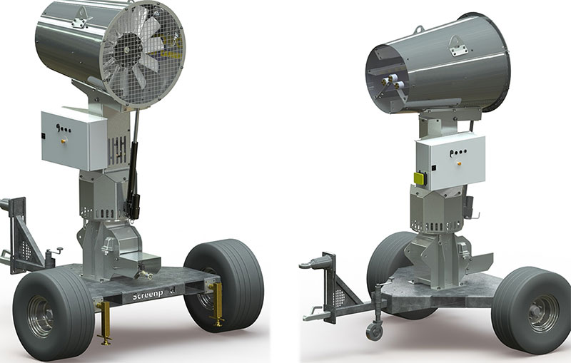 Screenpod Dust Cannon S-Series